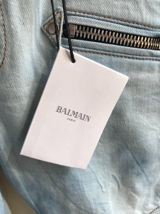 Balmain Biker Jeans SS18 Size US 32 / EU 48 - 3