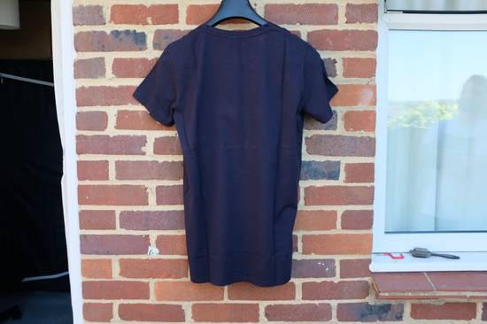Balmain Navy Blue Distressed T-shirt Size US M / EU 48-50 / 2 - 6