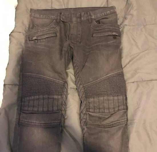 Balmain Grey Denim Jeans Size US 29