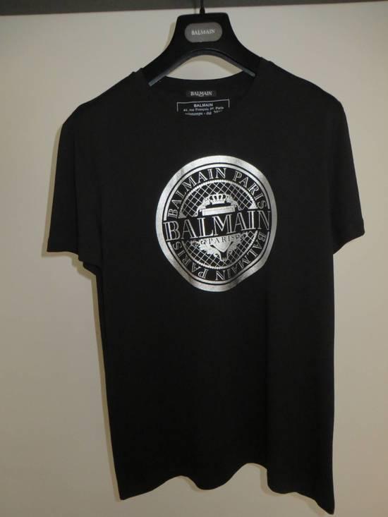 Balmain Silver Medallion print t-shirt Size US L / EU 52-54 / 3