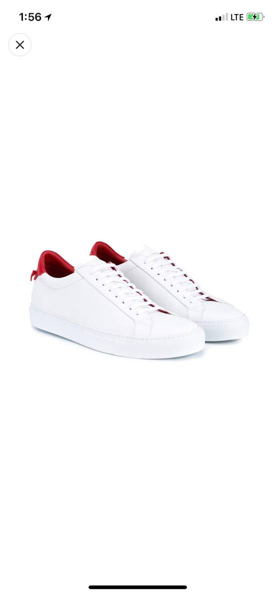 Givenchy Givenchy White & Red Urban Street Sneakers Size US 11 / EU 44 - 2