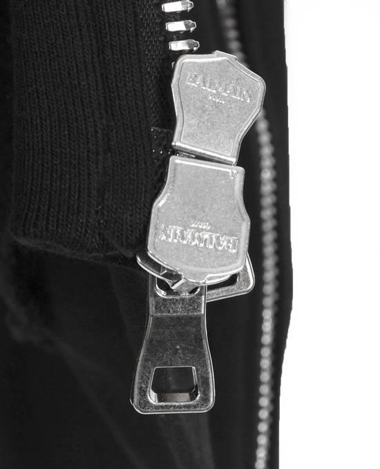 Balmain Original Balmain Hooded Black Men Sleeveless Sweatshirt Top Vest in size M Size US M / EU 48-50 / 2 - 7