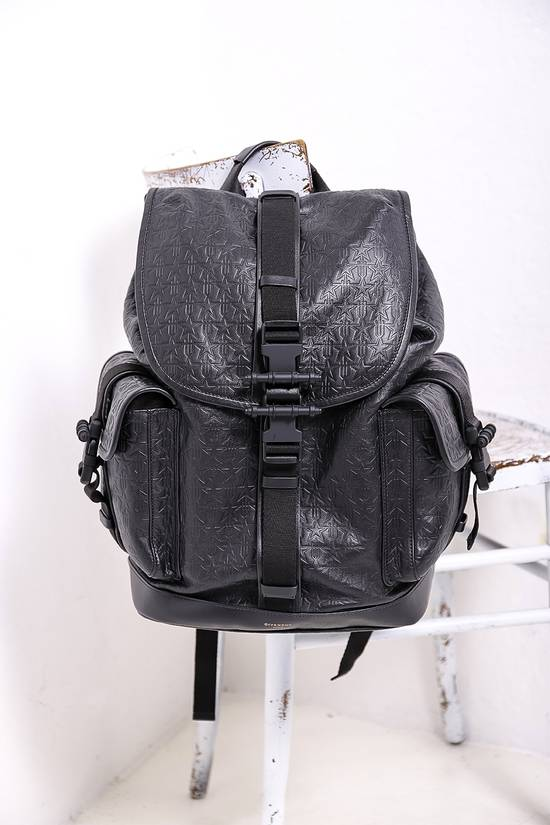 Givenchy Black Leather Backpack Size ONE SIZE