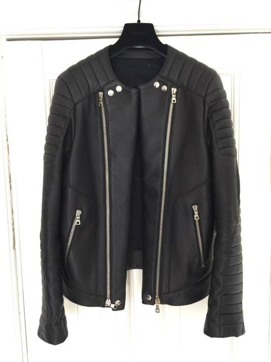 Balmain Balmain Leather Biker Jacket Size US M / EU 48-50 / 2