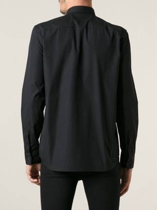 Givenchy Popeline Shirt With Pocket Zip Detail Size US M / EU 48-50 / 2 - 3
