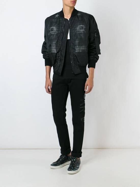 Givenchy 3500$ Black Jesus Print Bomber Jacket Size US M / EU 48-50 / 2