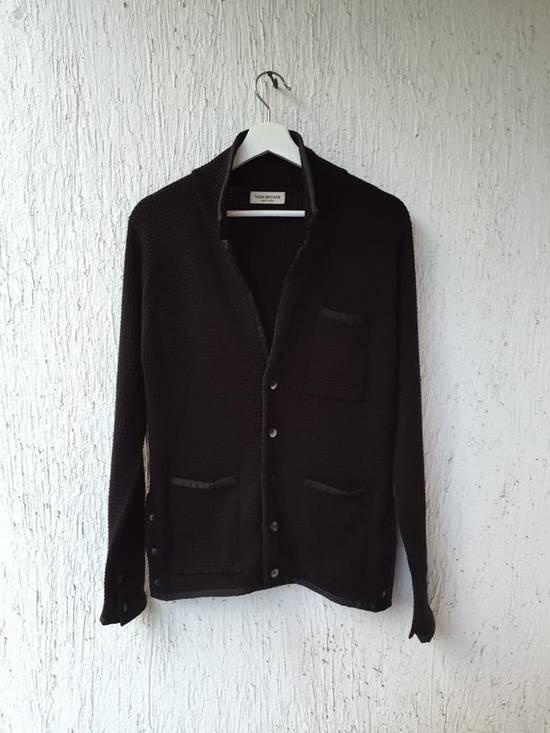 Thom Browne AW14 trim knit blazer jacket Size US XS / EU 42 / 0