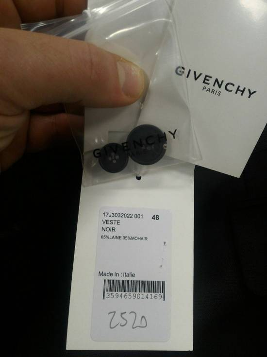 Givenchy 46-48 Zipped Blazer Mohair & Wool Jacket Size US M / EU 48-50 / 2 - 10