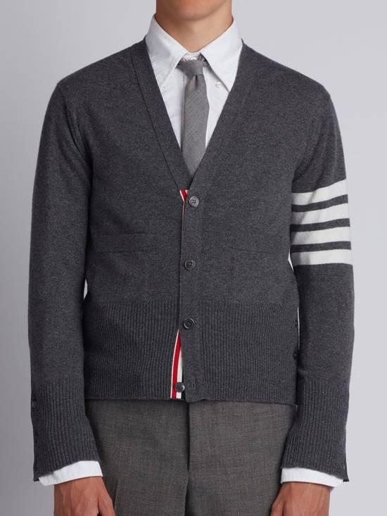 Thom Browne Thom Browne Classic Cashmere 4 Bar Stripe Cardigan Size US S / EU 44-46 / 1 - 1