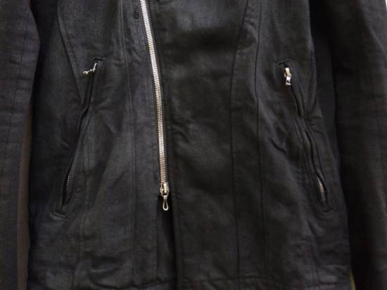Julius Black Denim Moto Jacket f/w10 Size US L / EU 52-54 / 3 - 4