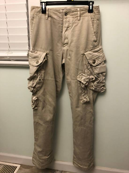 Julius a/w 2009 convertible gas mask cargos Size US 31 - 2