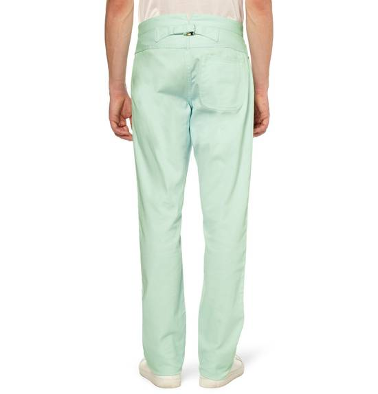 Thom Browne Mint Green Jeans Size US 31 - 5