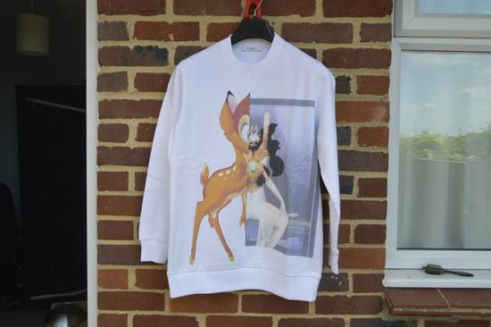 Givenchy White Bambi Sweater Size US XS / EU 42 / 0