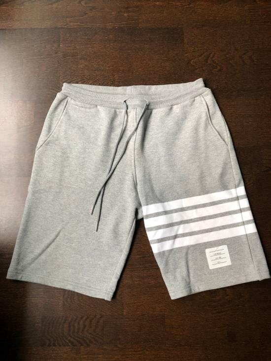 Thom Browne Grey Engineered Shorts Size US 31