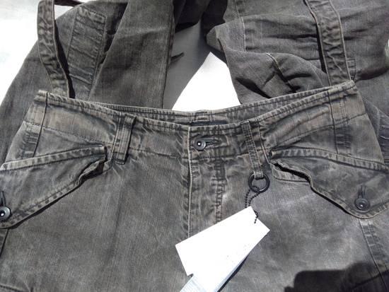 Julius Green Denim Gas Mask Cargo Pants s/s 13 Size US 31 - 10