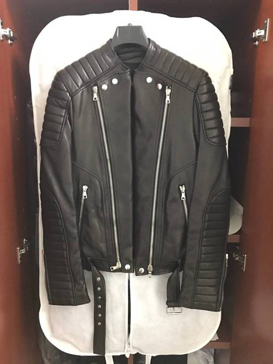 Balmain Signiture Biker Jacket - Sz. 44/xs Size US S / EU 44-46 / 1