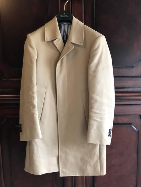 Thom Browne Thom Browne Tan Macintosh Overcoat - Size 00 Size US XXS / EU 40