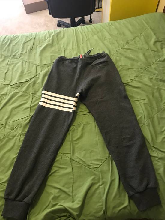 Thom Browne Sweatpant with engineerd 4-bar stripe Size US 33 - 1