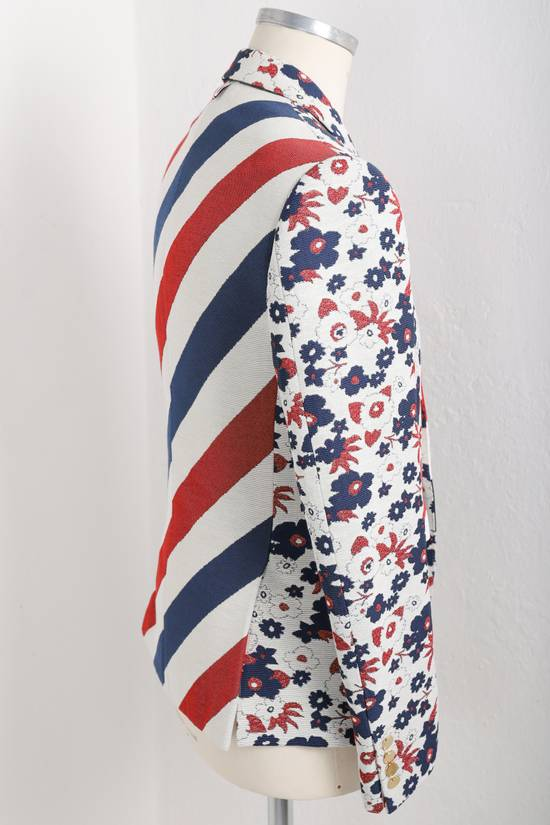 Thom Browne Floral jacket with RWB stripes Size 42R - 4