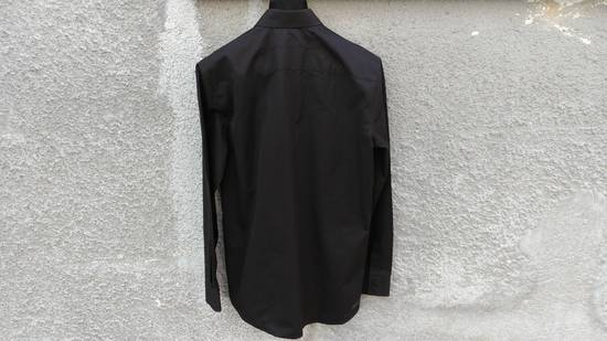 Givenchy Givenchy Black Chest Pocket Plain Rottweiler Shark Men's Shirt size 39 (M) Size US M / EU 48-50 / 2 - 3