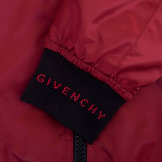 Givenchy Dark Red Nylon Givenchy Paris 4G Bomber Jacket Size US M / EU 48-50 / 2 - 9