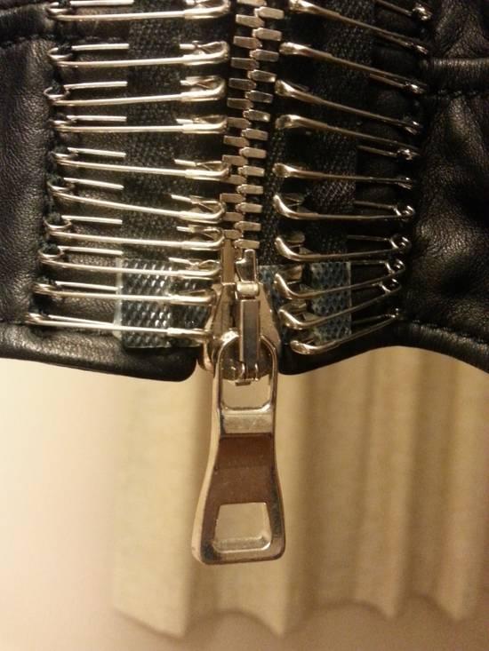 Balmain Safety Pin Leather Biker Jacke Size US M / EU 48-50 / 2 - 9