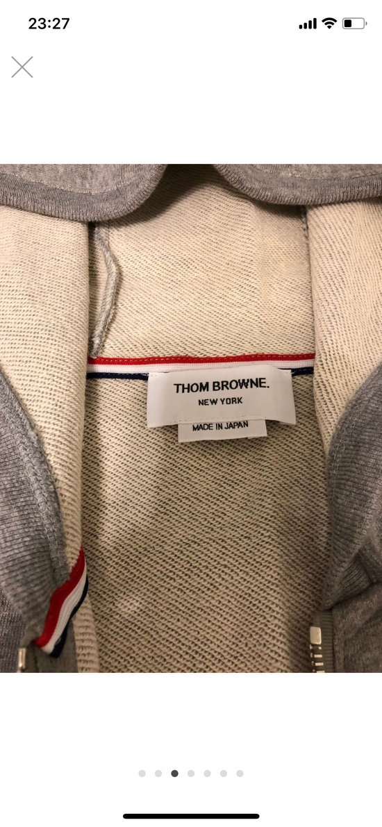 Thom Browne 4 bar hoodie jacket Size US L / EU 52-54 / 3 - 6