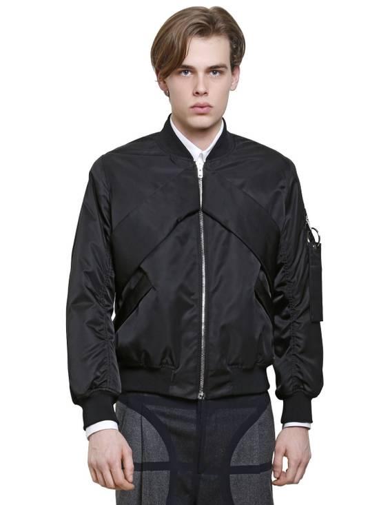 Givenchy Givenchy Black Banded Rottweiler Nylon Shell Bomber Jacket 2014 size 48 (M) Size US M / EU 48-50 / 2 - 3