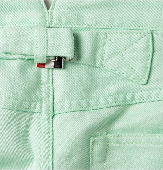 Thom Browne Mint Green Jeans Size US 31 - 4