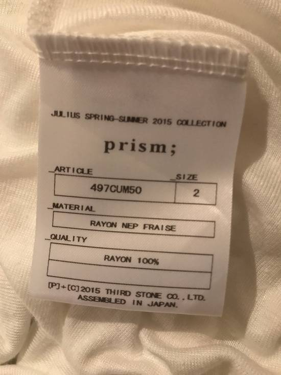Julius White hooded shirt Size US M / EU 48-50 / 2 - 2