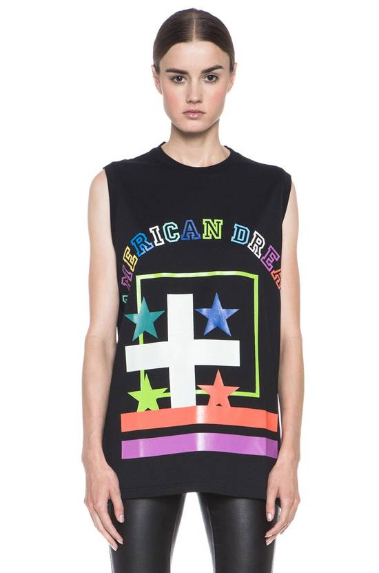 Givenchy Givenchy American Dream Print Rottweiler Bambi Star Tank Top Vest size XS Size US XS / EU 42 / 0 - 1