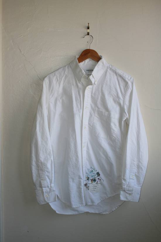 Thom Browne Thom Browne Embroidered Shirt Size US M / EU 48-50 / 2