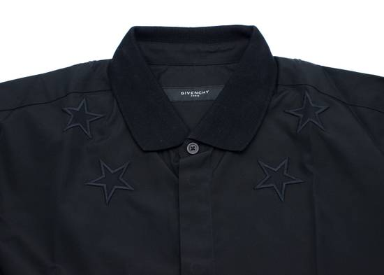 Givenchy Givenchy Mens Black Star 100% Cotton Button Down Size US XS / EU 42 / 0 - 1