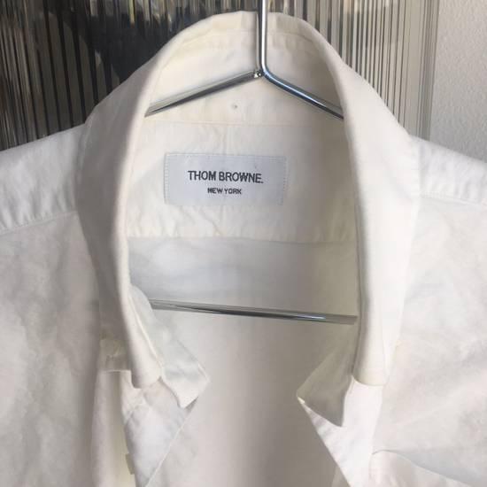 Thom Browne White Shirt Size 2 Size US M / EU 48-50 / 2 - 3
