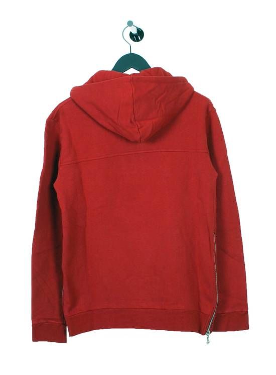 Balmain Original Balmain Red Men Hooded Top Sweatshirt Jumper in size L Size US L / EU 52-54 / 3 - 3