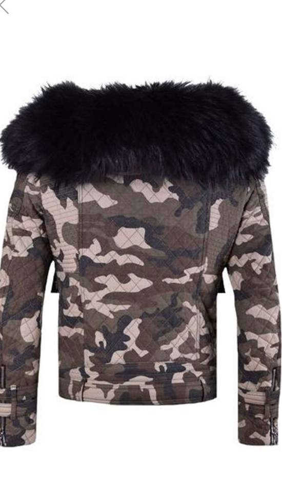 Balmain Raccoon Fur Hooded Jacket Size US M / EU 48-50 / 2 - 8