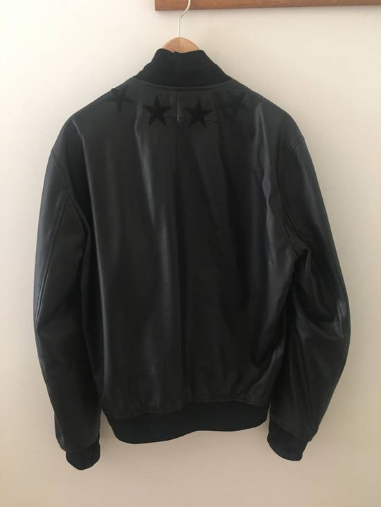 Givenchy Givenchy Leather Star Collar Bomber Jacket Size US M / EU 48-50 / 2 - 3