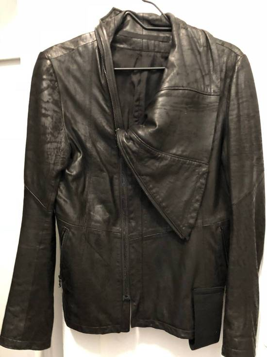 Julius SLASH-NECK LEATHER (SS17) Size US M / EU 48-50 / 2 - 2