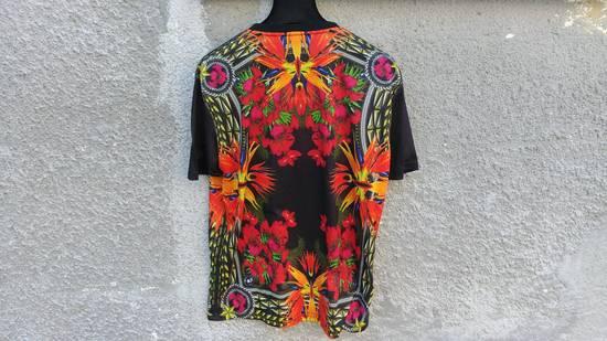 Givenchy $780 Givenchy Birds of Paradise Iris Floral Rottweiler Oversized T-shirt size XS Size US M / EU 48-50 / 2 - 7