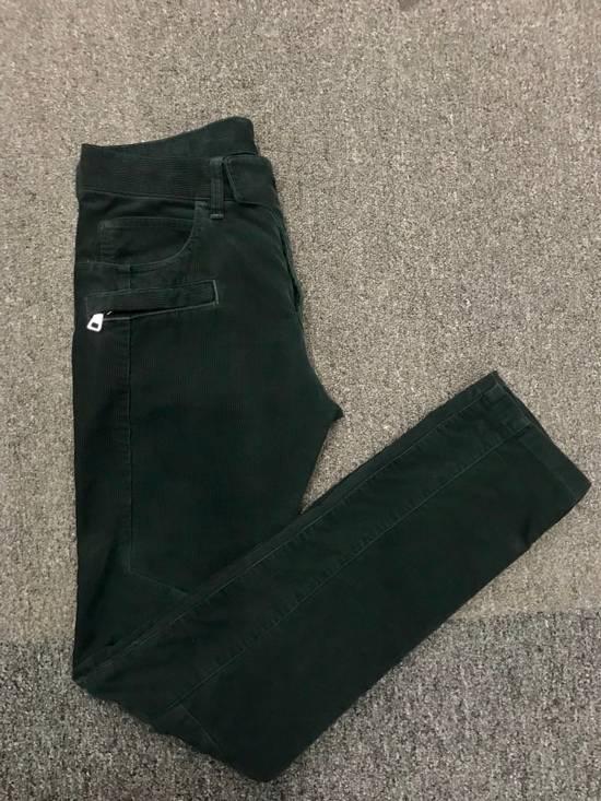 Balmain Corduroy Biker Pants Size US 28 / EU 44 - 4