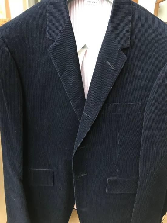 Thom Browne Navy Corduroy Blazer Size 36S - 1