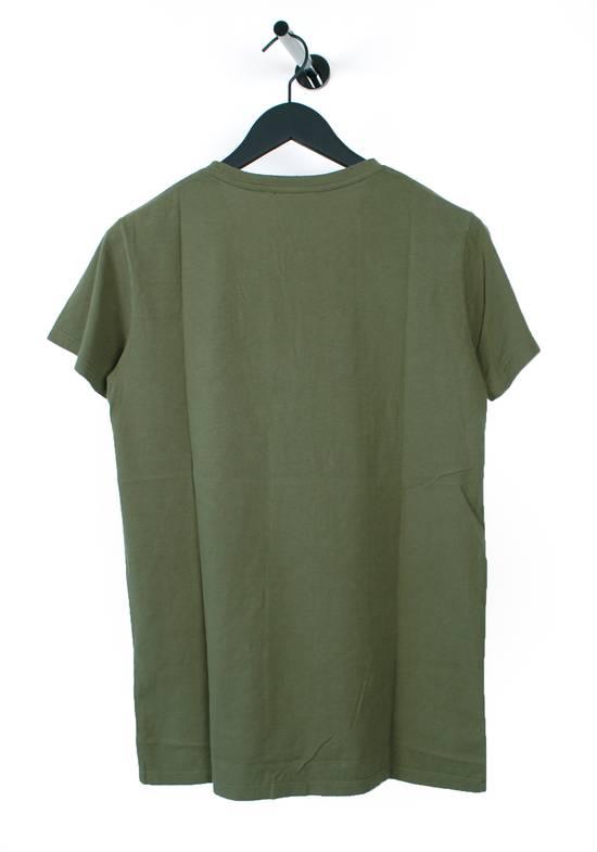 Balmain Original Balmain Distressed Elements Khaki Men T-Shirt in size L Size US L / EU 52-54 / 3 - 3