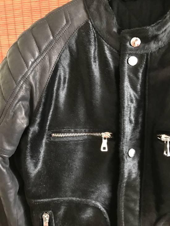 Balmain Balmain leather biker jacket Size US S / EU 44-46 / 1 - 1