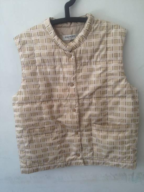 Balmain Vintage Vest Balmain Monogram Authentic Size US M / EU 48-50 / 2