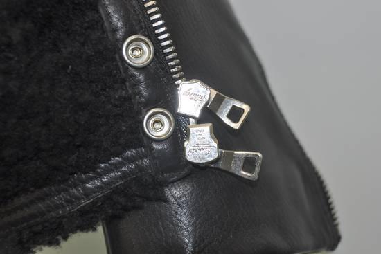Balmain Balmain shearling leather biker jacket Size US L / EU 52-54 / 3 - 1