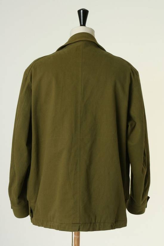Balmain BALMAIN Pre14 army green stretch military zip up oversized jacket FR40 US8 UK12 Size US M / EU 48-50 / 2 - 8