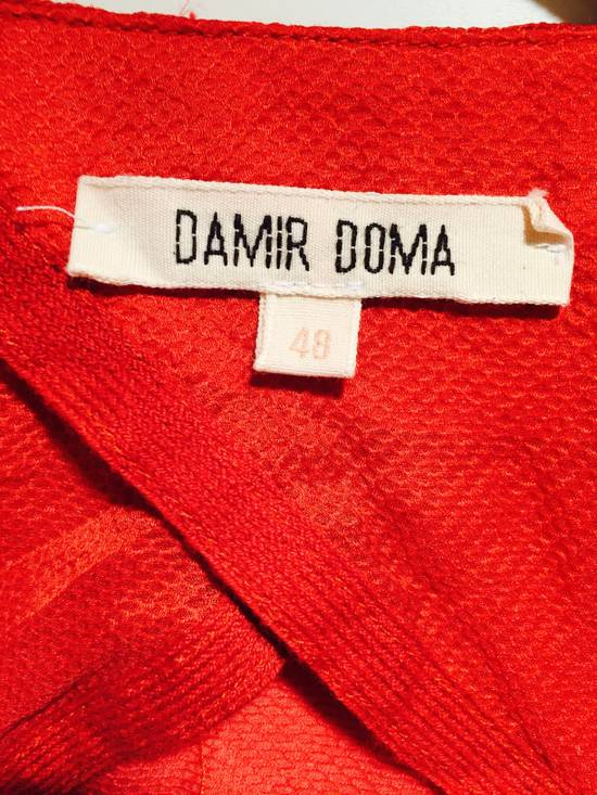 Damir Doma Red Draped Jacket Size 48 Size US M / EU 48-50 / 2 - 5