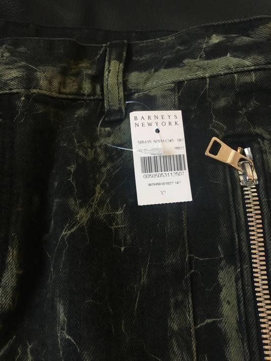 Balmain Extremely Rare Brand New Balmains- Marble-Print Skinny Moto Jeans Size US 32 / EU 48 - 4