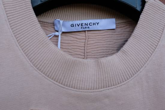 Givenchy Pink Destroyed Logo Sweater Size US S / EU 44-46 / 1 - 6