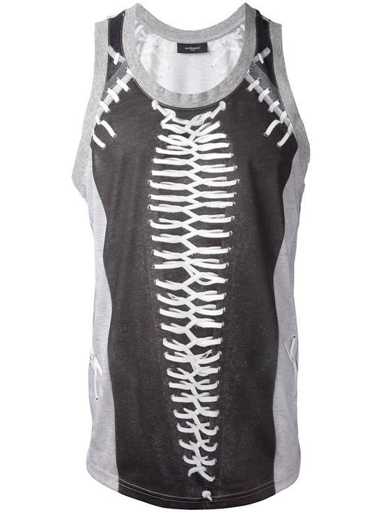 Givenchy Givenchy Baseball Stitch Print Men's Stars Rottweiler Shark Tank Top Vest size S Size US S / EU 44-46 / 1 - 7